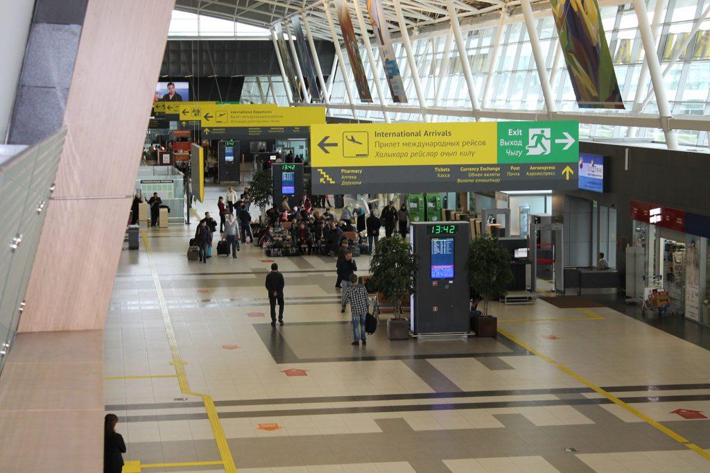 Терминал Международный аэропорт Казань
